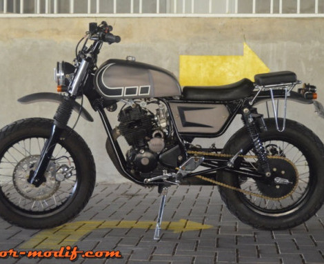 Yamaha Scorpio 2005 (Bogor) : The Shadow, Sang Scrambler Enduro