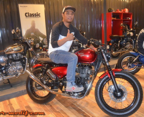 KustomFest 2016 : Custom Builders ala Royal Enfield