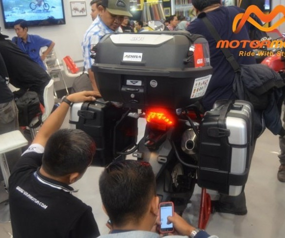 Givi Support Penuh Solo Ride Jakarta to Himalaya 15.000 KM