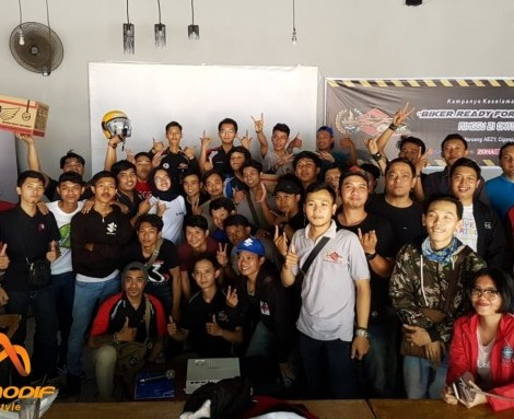 SSFC Pengda Depok : Bikers Ready for Road Safety